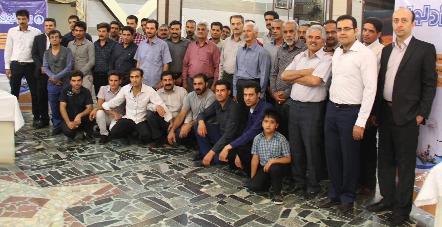 إقامة اجتماع شهر رمضان المبارک في مدینة تفت